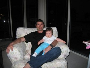 Picture of Brian and his daughter