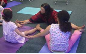 Yoga for autistic children