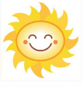 Picture of smiling sun