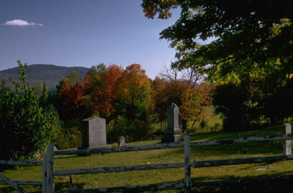 Scene of a Graveyard