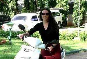 Heather Morton in India