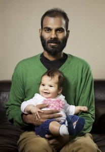 Paul Kalanithi savors moments with his daughter, Cady.