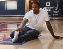 NBA stars can do yoga