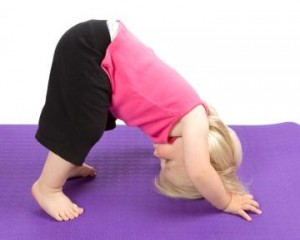 Toddlers can do Yoga