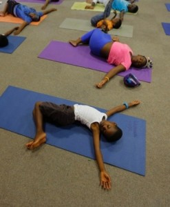 Teenagers can do yoga