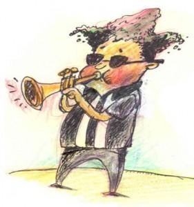 Trumpet And Guns
